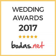 Fulanito y Menganita, ganador Wedding Awards 2017 Bodas.net